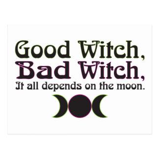 """Buena bruja, postales de la mala bruja… """