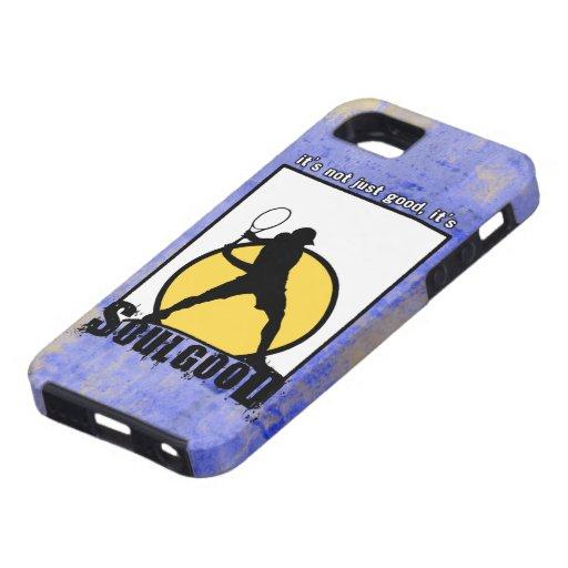 Buena caja del teléfono del tenis del alma iPhone 5 Case-Mate fundas