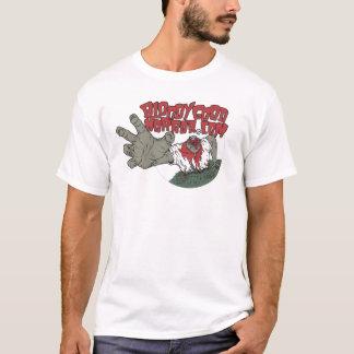 Buena camisa sangrienta del logotipo del horror