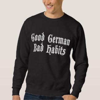 Buena camiseta alemana divertida de la oscuridad