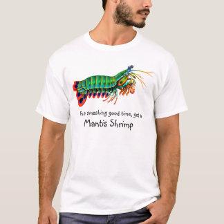 Buena camiseta sensacional del camarón de