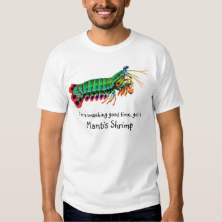 Buena camiseta sensacional del camarón de playera