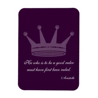 Buena cita de la regla - imanes de Aristóteles
