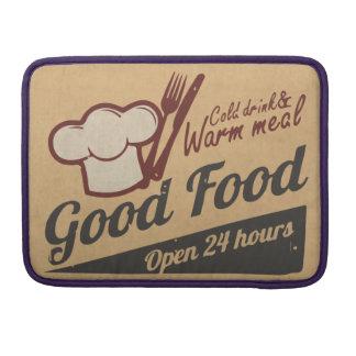 Buena comida funda macbook pro