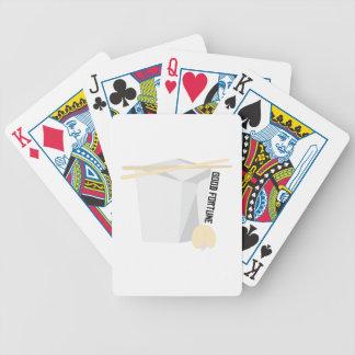 Buena fortuna cartas de juego