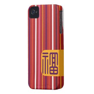 Buena fortuna Case-Mate iPhone 4 protectores