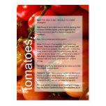 Buena guía cada vez mayor: Tomates y ajo Tarjeta Postal