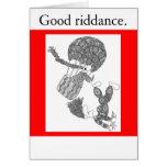 Buena liberación tarjetas