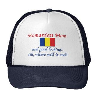 Buena mamá del rumano de Lkg Gorros Bordados