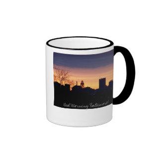 Buena mañana Baltimore Taza De Dos Colores