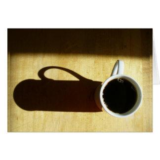 Buena mañana Cofffee#3 Tarjeta Pequeña