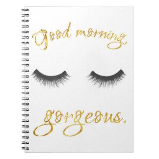 Buena mañana, cuaderno magnífico