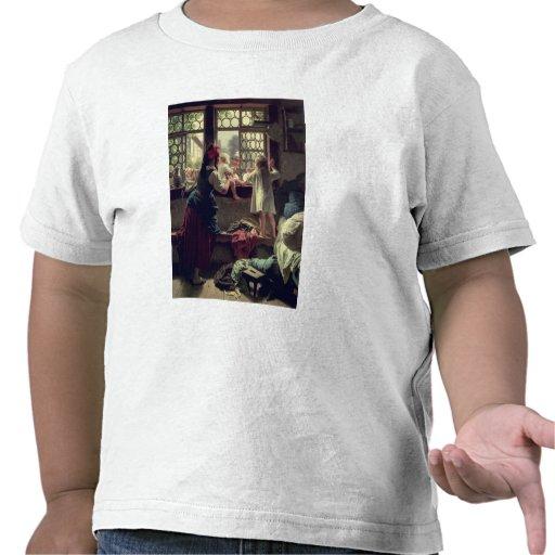 Buena mañana, estimado padre camiseta