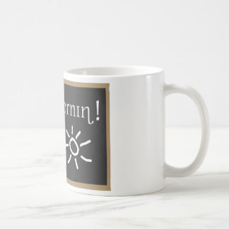 Buena mañana fonética taza