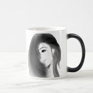 Buena mañana hermosa taza