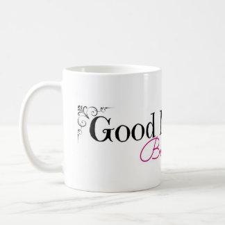 Buena mañana hermosa tazas de café