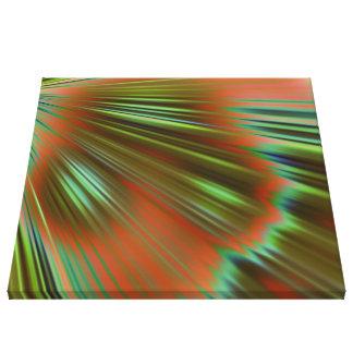 buena mañana, (i) verde lienzo envuelto para galerías
