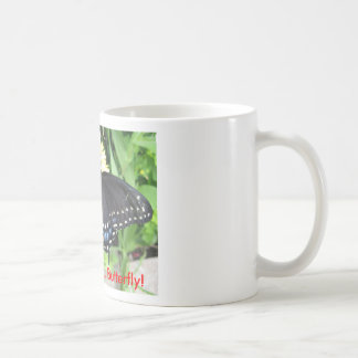 ¡Buena mañana, mariposa! Tazas De Café