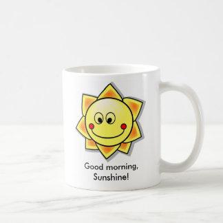 ¡Buena mañana sol Taza De Café