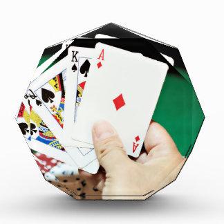 Buena mano del póker
