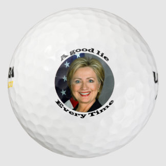 Buena mentira de Hillary Pack De Pelotas De Golf