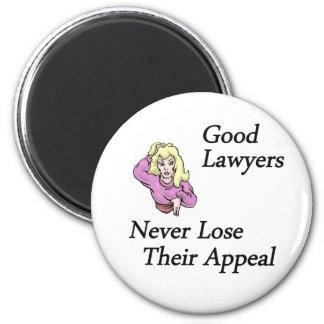 buena mujer de los abogados imán redondo 5 cm