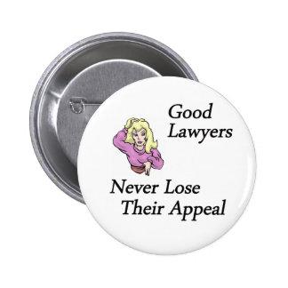 buena mujer de los abogados pin redondo de 2 pulgadas