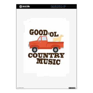 Buena música country skins para iPad 2
