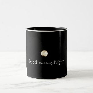 ¡Buena noche (del Caribe)! Taza De Dos Tonos