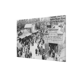 Buena Park, California Knotts Berry Place Ghost Canvas Print