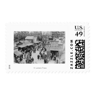 Buena Park, California Knotts Berry Place Ghost Postage Stamp
