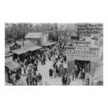 Buena Park, California Knotts Berry Place Ghost Poster
