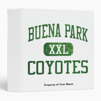 Buena Park Coyotes Athletics Binder