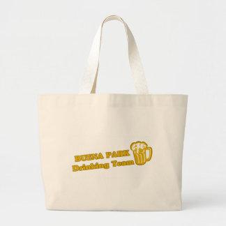 Buena Park Drinking Team tee shirts Canvas Bag