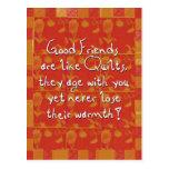 Buena postal de los amigos