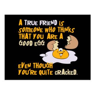 Buena postal del huevo