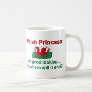 Buena princesa de Lkg Galés Taza De Café