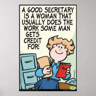 Buena secretaria impresiones