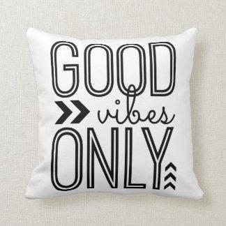Buena sensación solamente almohadas