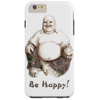 Buena suerte alegre de risa feliz Buda Funda Resistente iPhone 6 Plus