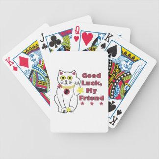 Buena suerte baraja de cartas