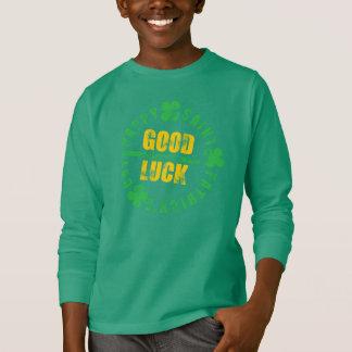 Buena suerte del santo del día feliz de Patricks Playera