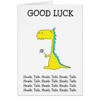 buena suerte Dino Tarjeta