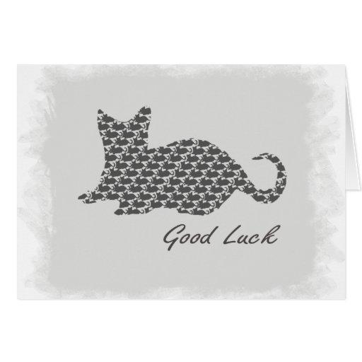 Buena suerte felicitacion