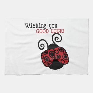 Buena suerte toalla de mano