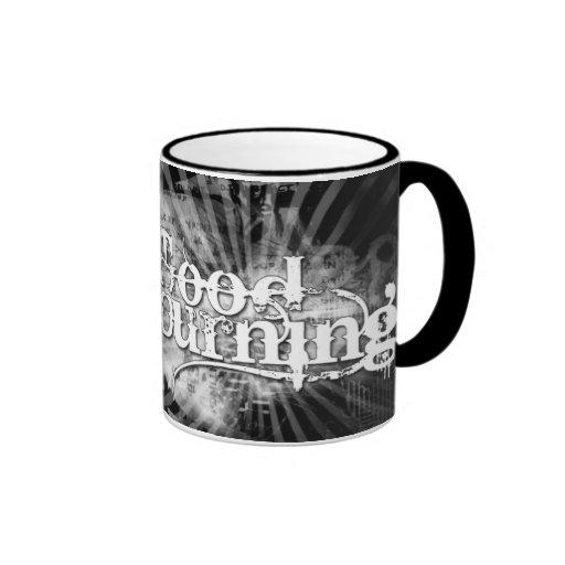 Buena taza de café de luto