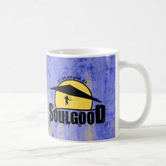 Buena taza de café del deslizamiento de la caída