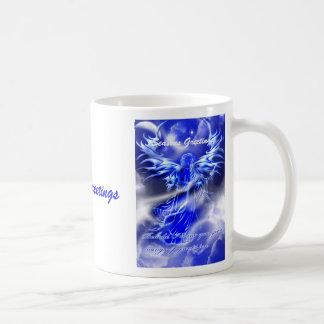Buena taza del ángel de las noticias