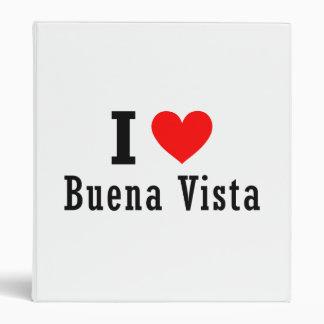Buena Vista, Alabama City Design 3 Ring Binder