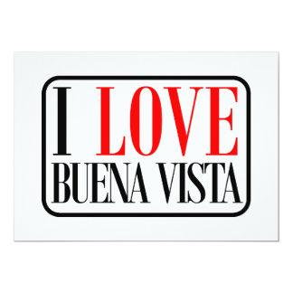 Buena Vista, Alabama City Design Personalized Invitation